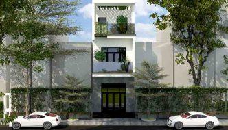Mẫu nhà phố đẹp 3 tầng 4x16m2 NP3T021