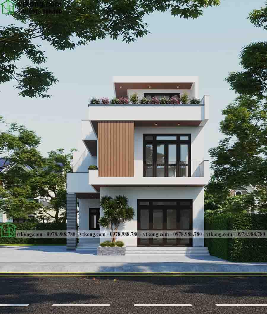 Vẻ đẹp sang trọng, lộng lẫy của mẫu biệt thự phố 3 tầng 9x15m BT3T013