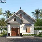 Mẫu thiết kế nhà cấp 4 mái thái 4 phòng ngủ đẹp 8x11.5m tại Quảng Nam NC4140