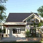 Nhà cấp 4 mái thái có gác lửng 4 phòng ngủ 13x11m tại Quảng Nam NC4138