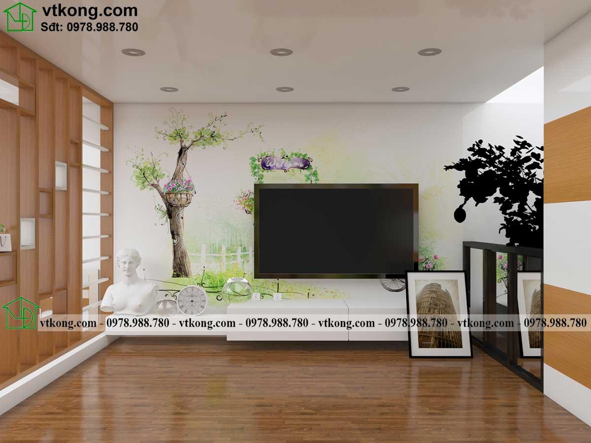 Thiết kế phòng ngủ nhà cấp 4 gác lửng