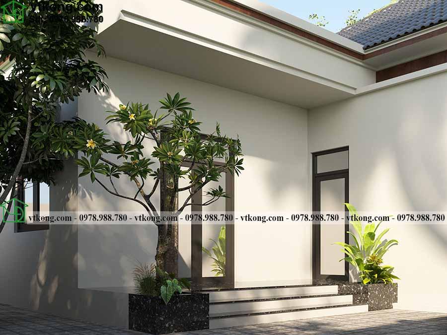 Nhà Cấp 4 Mái Nhật 8x16m đẹp Ai Cũng Thích Tại Phú Thọ Nc4143