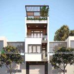Mẫu thiết kế nhà phố 4 tầng 4x14m đẳng cấp tại Hải Phòng NP4T004