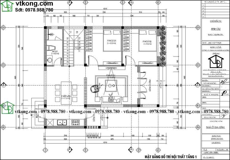 Mẫu Nhà Cấp 4 Gác Lửng 9x11m đẹp Tiện Nghi Tại Hà Tĩnh Nc4142