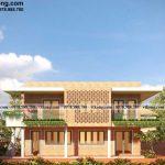 Mẫu thiết kế biệt thự 2 tầng mái bằng 5x10m đẹp mê hồn tại Ninh Bình BT2T87