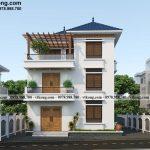 Mẫu thiết kế biệt thự 3 tầng mái Nhật 10x9m đẳng cấp tại Hà Nội BT3T020