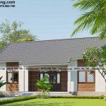 Nhà cấp 4 mái Thái 2 phòng ngủ 8x12m đơn giản, tinh tế tại Đồng Nai NC4152