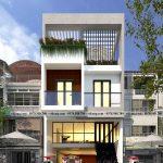 Thiết kế nhà phố 3 tầng 7x20m kết hợp kinh doanh tại Vĩnh Phúc NP3T033